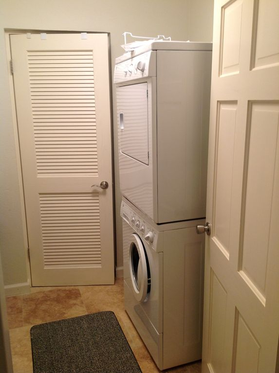 Full size laundry room.