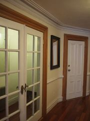 Brooklyn townhome photo - Original french doors