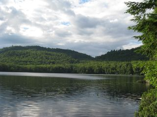 Woodstock lodge photo - Shagg Pond in the afternoon