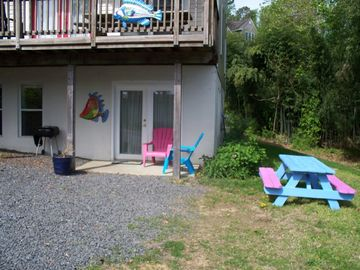 St. Leonard apartment rental - Park at Your Door at the Fisherman's Flat!