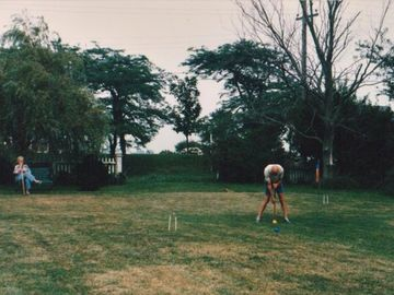 Big Lawn/ Croquet court