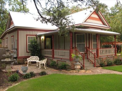 Historic Cabaniss-Tate-Chunn house is the keystone rental at GeneviEve's Garden.