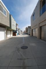 Balboa Peninsula house photo - The alleyway behind the property
