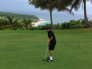 Rincon apartment photo - The 9th hole view at Punta Borinquen Golf Course.