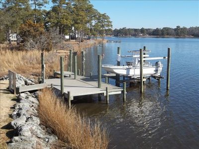 Fantastic Fishing & Relaxation at Dawson's Creek, N.C 2BR 1BA