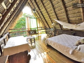 Cabarete estate photo - Cacique Eco Luxury suite, sleep at the top, hear the waves watch the starlight