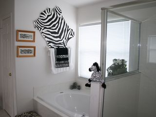 Indian Creek villa photo - The Master suite Zebra Bathroom
