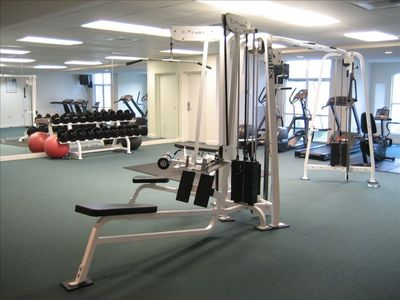 fitness room on 3rd floor