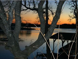 Granite Shoals house photo - Beautiful Fall Sunsets