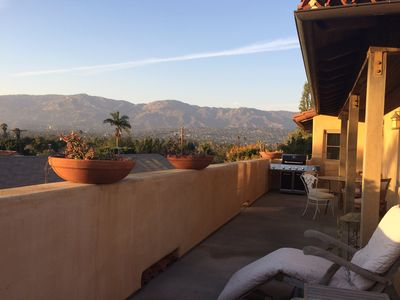 Upstairs Furnished 1 Bedroom Suite with Large Balcony and Stunning Mountain View