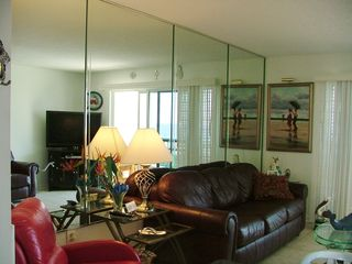 Fort Morgan condo photo - Watch the new Flat Screen TV after a day at the beach!