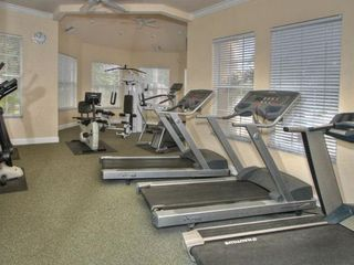 Windsor Palms villa photo - CLUBHOUSE FITNESS ROOM