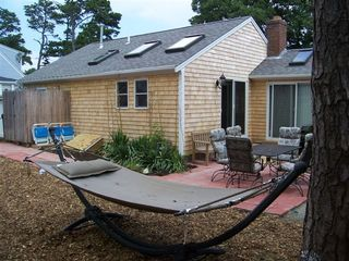 Dennisport cottage photo - Relax in the backyard