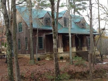 Birmingham estate rental - House front. There is a great front porch for enjoying the peace and quiet.