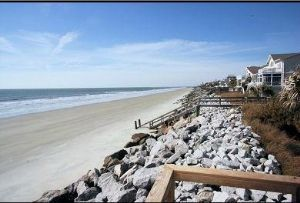 Fripp Island house rental - Wide sandy beaches at low tide