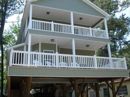 Gorgeous New 2 story with covered steps and double decks!!!