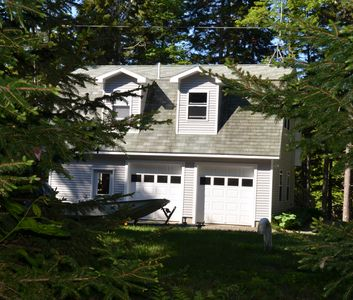Near Camden,  serene setting in the Maine woods, excellent reviews.