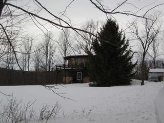 Windham house photo - La Bella Vista in the snow