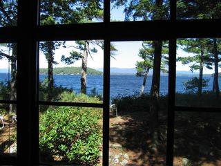 Front porch view of lake - Alton house vacation rental photo