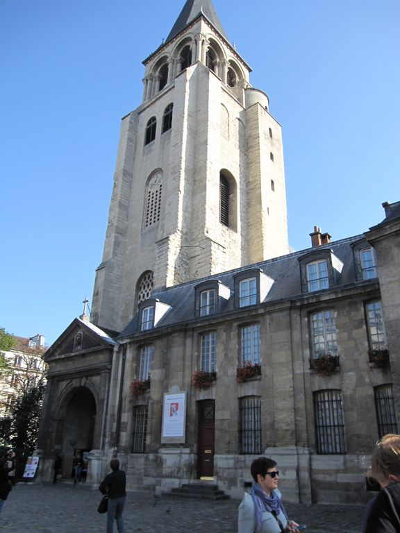 Saint Germain Des Pres church