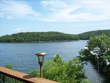 Osage Beach condo rental - Your view from the balcony.