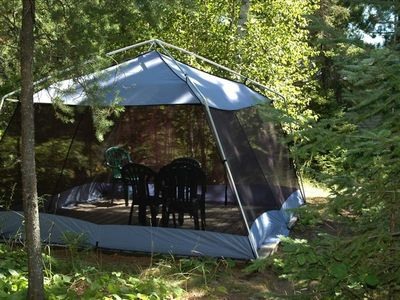 Gazebo: Den and Patio