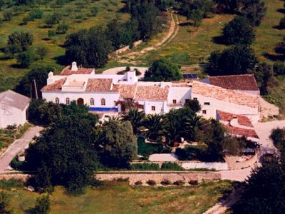 Santo Estevao farmhouse rental - As the birds see it