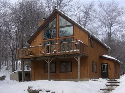 Slopeside Home-Perfect Ski in Ski Out House with Outdoor Hot Tub!!