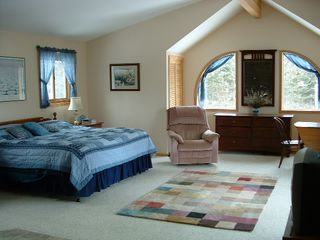 Lake Vermilion house photo - Master Bedroom with king size bed.