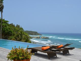 Cabrera villa photo - Lounging With A View!