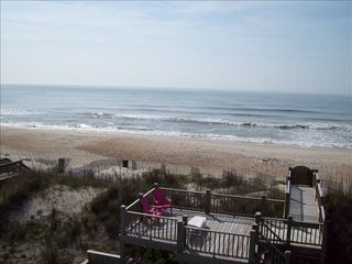 North Topsail Beach house photo - Oceanside sundeck
