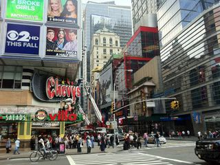 15 minute walk to Times Square