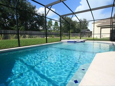 Come lay out by your very own private pool!