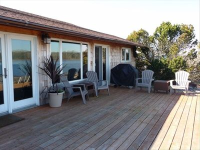 Relax Beach-Side on the Expansive Deck with Fabulous Ocean & Mt. Baker Views!