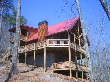 Blue Ridge cabin rental - Solitude soars above the standard in views, decor and amenities