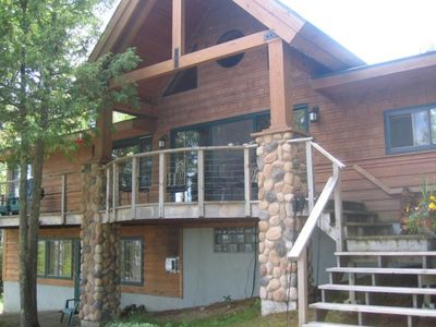 Modern two-story cabin near McKinley Park on Lake Vermilion