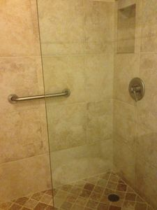 gorgeous remodeled shower