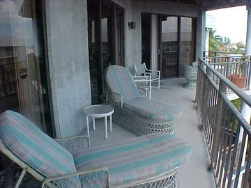 Partial view of 50 ft. balcony