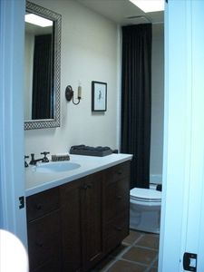 2nd Master Suite Bath with tub shower combo