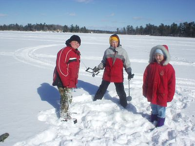 Winter fun on the ice!