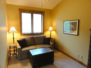 Steamboat Springs condo photo - Extra Den with memory Foam mattress in Sleeper Sofa