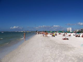 Fort Myers Beach condo photo - Great Beach to Enjoy the Sun