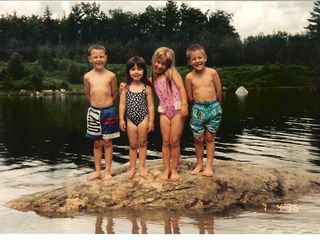 North Woodstock condo photo - The kids favorite rock at the beach at Deer Park