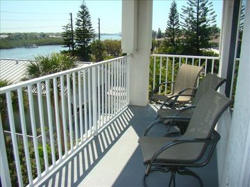 Intercoastal balcony off of living room