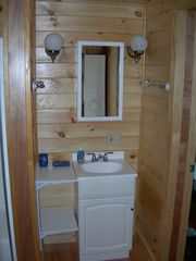 Harpswell cottage photo - Bathroom sink