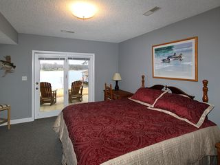 Moneta house photo - King bedroom overlooking lake