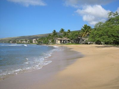 Best walking beach on Maui - miles and miles of sandy beach with few people.