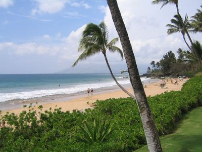 Dolphins Point Maui is located on this Beautiful White Sand Beach - Kamaole One