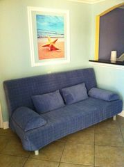 Queen Futon Sofa - Bed - Clearwater Beach condo vacation rental photo