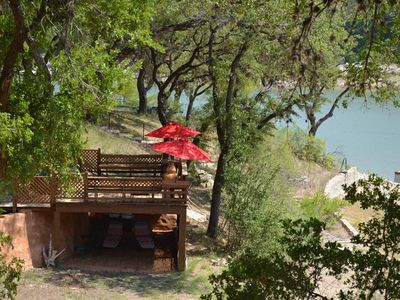 Relax on The Deck overlooking Lake Travis